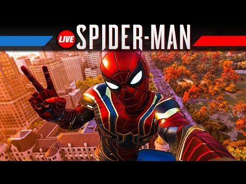 SPIDER-MAN Gameplay German #5 | Marvel's Spiderman PS4 Pro Live Let's Play Deutsch