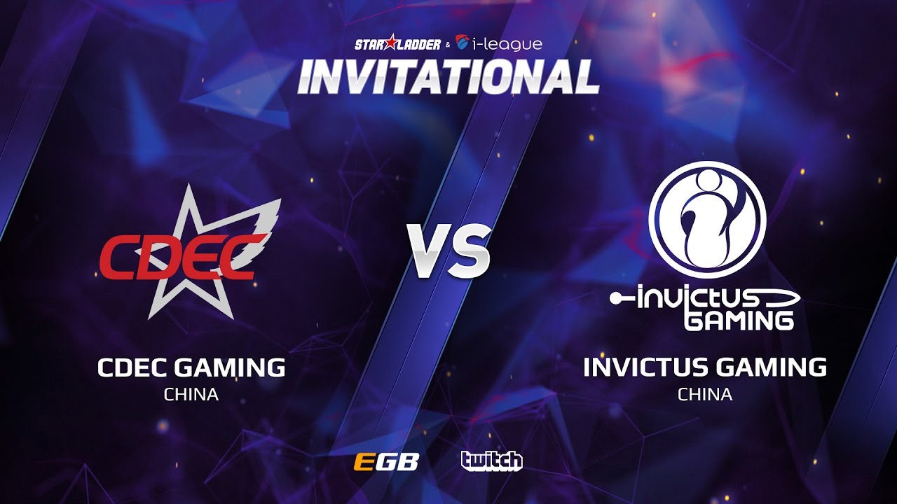 CDEC Gaming vs Invictus Gaming, Game 1, SL i-League Invitational S2, CN Qualifier