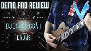 Djenthuggah Drums Demo and Review (Little V)