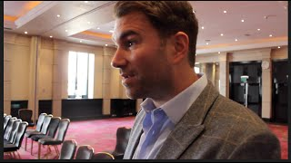 EDDIE HEARN REVIEWS NEW PRODUCT 'CORNER' BY ATHLETEC WITH (DEMONSTRATION) W/TIM & CHARLIE