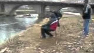 lov na bojnik na reka bregalnica -Stip  2 del