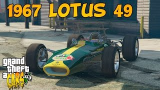 GTA 5 PC CARS : 1967 Lotus 49