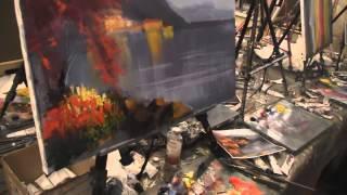"""Видеоурок Сахарова """"Как научиться рисовать море"""" живопись для начинающих, уроки рисования"""