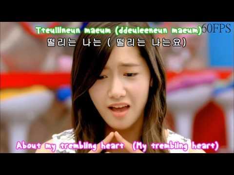 SNSD - GEE 【Romaji • Hangul • English】 Lyrics [1080p 60fps]