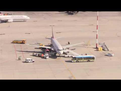 Диспетчеры в петербургском аэропорту Пулково