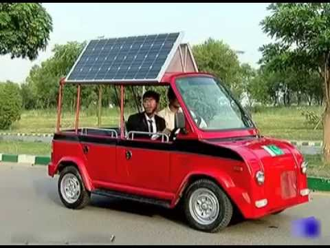Solar Car technology by Pakistan