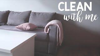 CLEAN WITH ME - motywacja do sprzątania