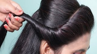 Side Braid hairstyles for party/Wedding ★ hairstyle for beginners step by step ★ hair style girl