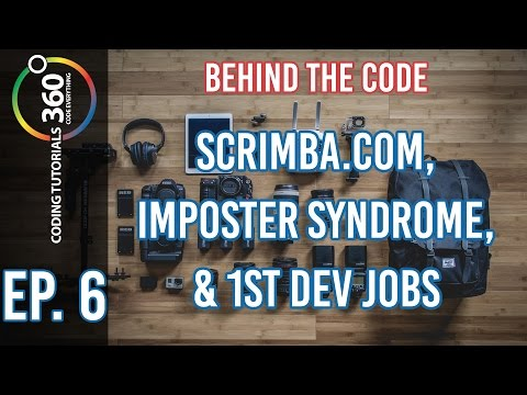 Behind the Code Ep. 6 - Scrimba.com, Impostor Syndrome and 1st Dev Jobs ft. Per Harold Borgen