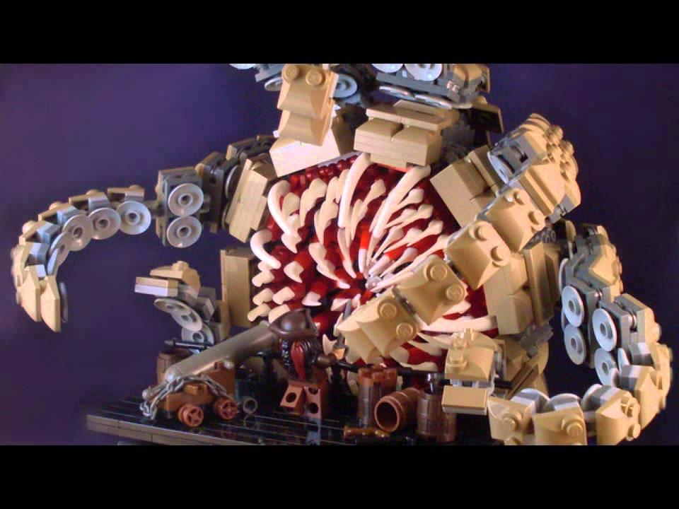 Lego Cuusoo PotC - Jack Sparrow vs. Kraken - YouTube