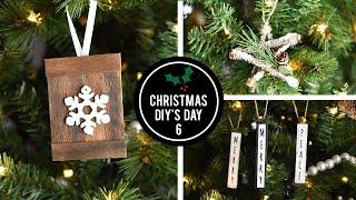 Dollar Tree Ornaments - Christmas DIY's Day 6
