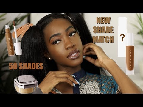 New Fenty Beauty Instant Retouch Concealer & Setting Powder ... And A New A Foundation Shade?