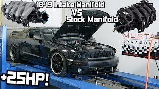 Video-Search for ported intake 2018-2019 mustang