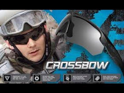 51ee6ddb3fd9 Video Review: ESS Crossbow 2x Ballistic Glasses - YouTube
