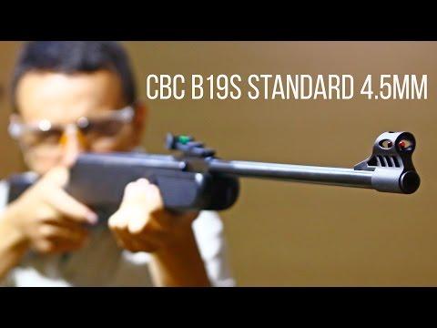 Teste da Carabina de Pressão CBC B19S 4.5mm - Ventureshop