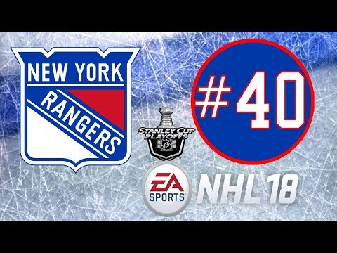 NHL 18 ~ New York Rangers Franchise Mode ~ #40 (A Storm is Brewing)