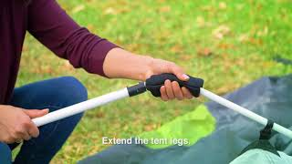 How to Set Up Your Coleman® Signature 6-Person Instant Cabin with Rainfly