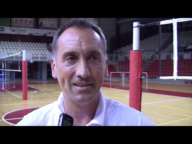 Coach Cuttini e la nuova Pallavolo Padova