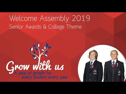 Emmanuel College Welcome Assembly Feb 2019