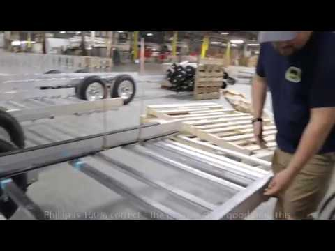 PART 2: Factory Tour (Oliver Travel Trailers) Aluminum Frame