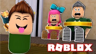 BABY KIDNAPS THEIR PARENTS | Roblox Roleplay Spanish
