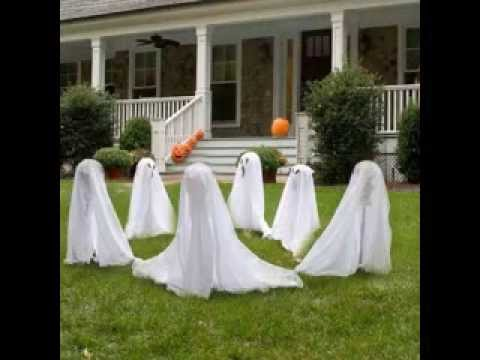 simple diy scary halloween decorating ideas - Scary Halloween Decorations Diy