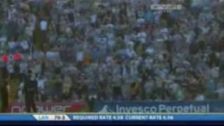 Cricket Ball Hits and Kills Flying Pigeon!