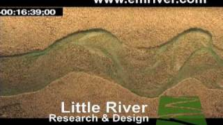 Meander initiation and braiding in a small river model