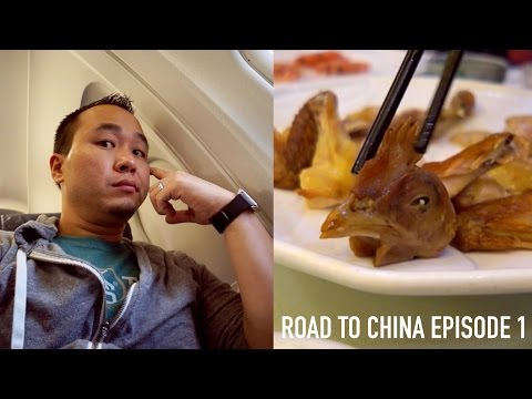 Road to China (Huawei) #1: Long Flight and Weird Food!
