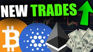WATCH THESE BITCOIN, CARDANO & ETHEREUM TRADING OPPORTUNITIES!