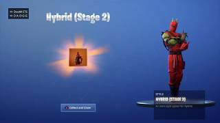 'NEW' UNLOCKING HYBRID STAGE 2 on Fortnite Battle Royale Saison 8