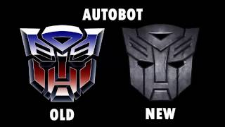 Transformers Old and New Comparisons (Autobots Pics and Scenes from the Movie)
