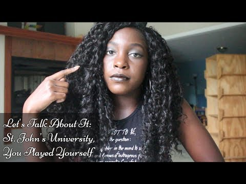 Let's Talk About It: Exposing St. John's University