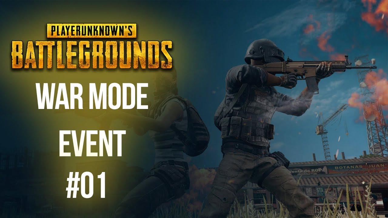 This Weekend S Pubg Event Mode Is War: PUBG 💣🔫 WAR MODE EVENT #01 [Deutsch] [Facecam] [Facerig