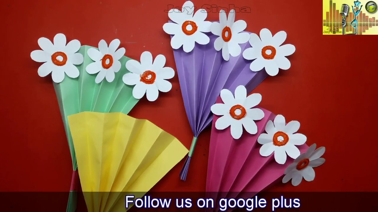 How to make a paper flower buke craft ideadiy projects for how to make a paper flower buke craft ideadiy projects for school mightylinksfo