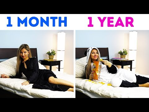 YOUR RELATIONSHIPS: 1 MONTH VS 1 YEAR