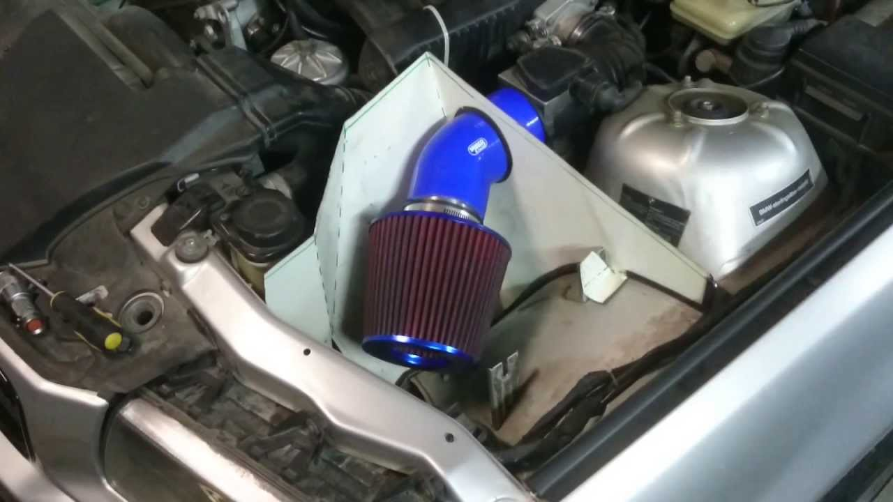 BMW 325i sound with cold air intake
