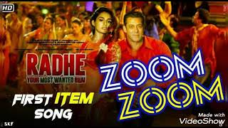 Zoom zoom mp3 Song ## #Radhe Your Most Wanted Bhai