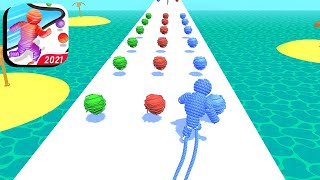 Rope-Man Run - All Levels Gameplay Android,ios (Levels 42-52) screenshot 1