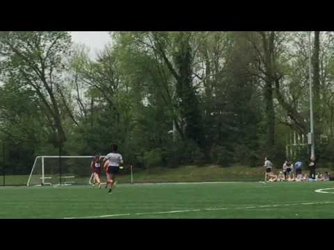Lauren Zanetti 2019 Center/Mid-Field Lacrosse 1v 1 Assumption HS