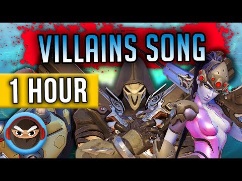 """1 HOUR ► OVERWATCH VILLAINS SONG """"Unite the Shadow"""" by TryHardNinja & HalaCG"""