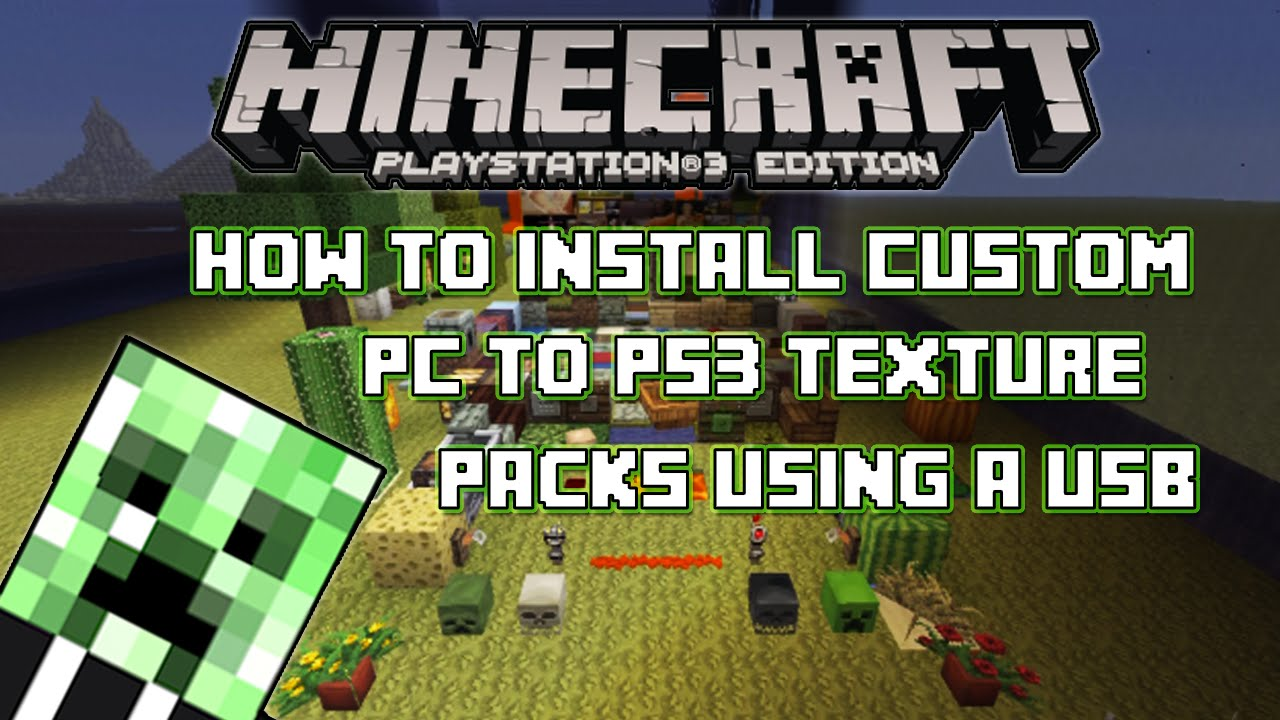 minecraft ps3 mods download usb