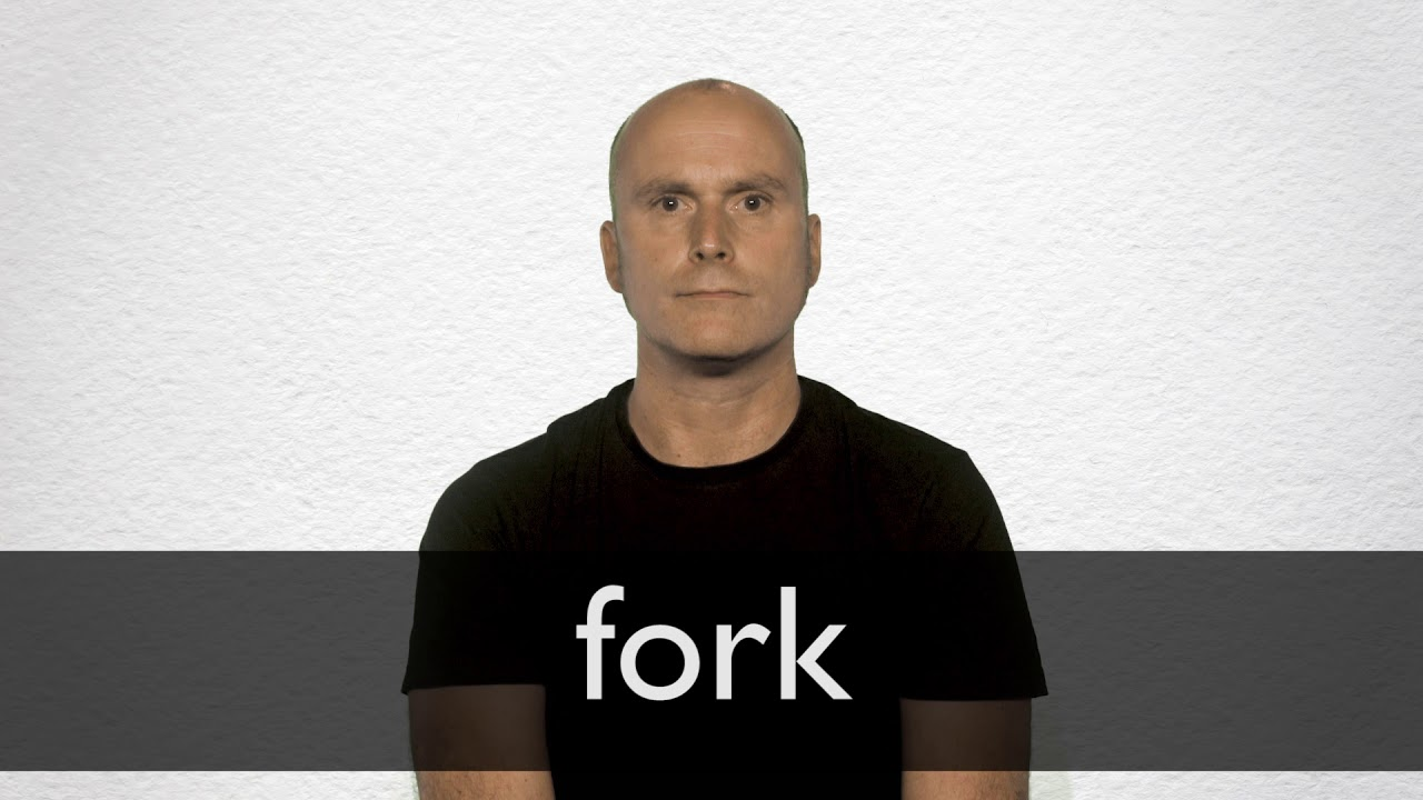 How to pronounce FORK in British English
