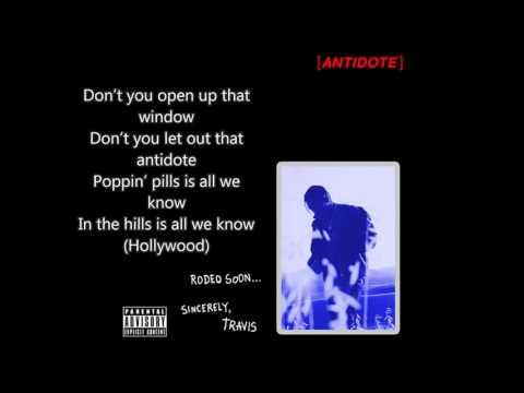 Travi$ Scott-Antidote Lyrics