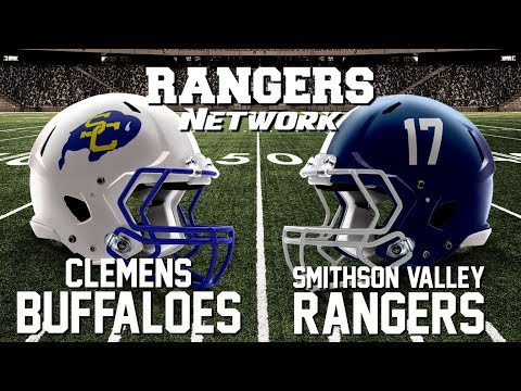 Rangers Network Presents Live Radio Broadcast - Clemens Buffaloes vs Smithson Valley Rangers