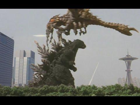 哥斯拉大战超翔龙,超翔龙绝招,差一点干掉哥斯拉!