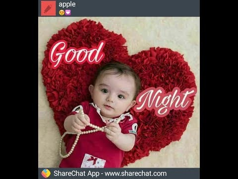 Cute Baby Say Good Night Youtube