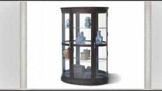 Corner Display Cabinet At Curiocabinetspot.com - Call 888-752-8746