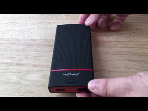 myCharge AmpProng Dual USB Portable Battery Overview 1-29-17