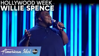 "ALL The Chills! Willie Spence's Performs ""All Of Me"" For Genre Challenge - American Idol 2021"